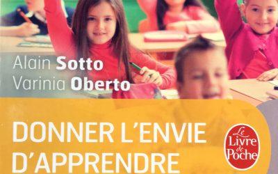 Donner l'envie d'apprendre est sorti en Livre de Poche 2016